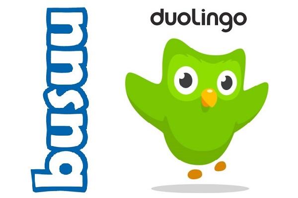 یادگیری زبان انگلیسی به کمک نرم افزار دولینگو duolingo و باسواو busuu